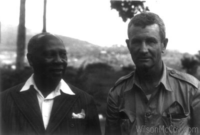 Congo Wilson McCoy and dignitary